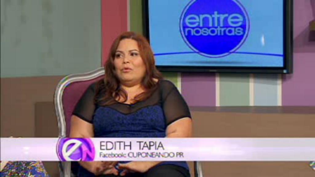 Edith_Tapia_Cuponeando_PR_Entre_Nosotras