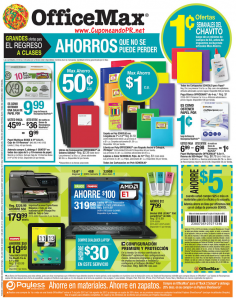 Shopper de OfficeMax Puerto Rico 7-13 de julio – página 1