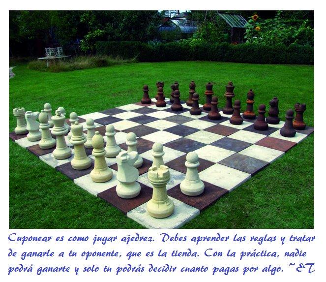 Cuponear es como el ajedrez