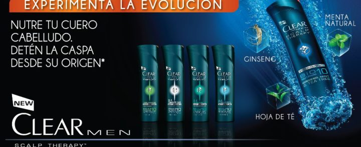 Clear Men Scalp Therapy | Reseña y Sorteo