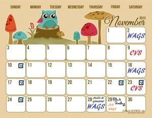 Calendario_Noviembre_Cuponeando_PR