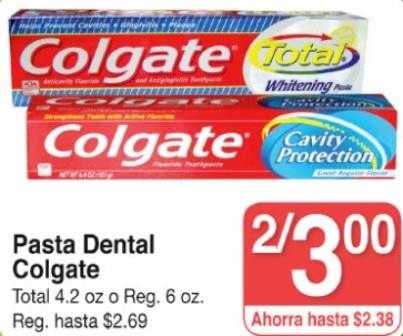 Colgate Total en SUperMAx