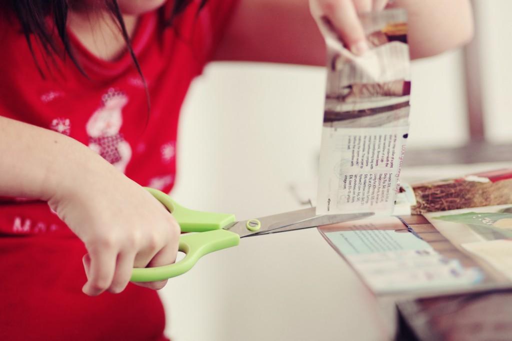 tiempo para cuponear y cortar cupones