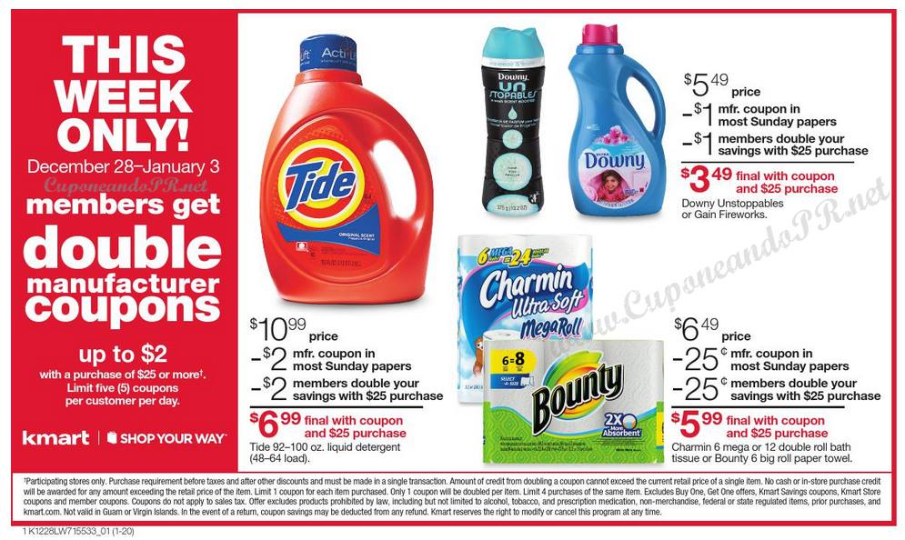 Kmart Double Coupon Event