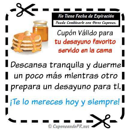 Cupón_en_cama