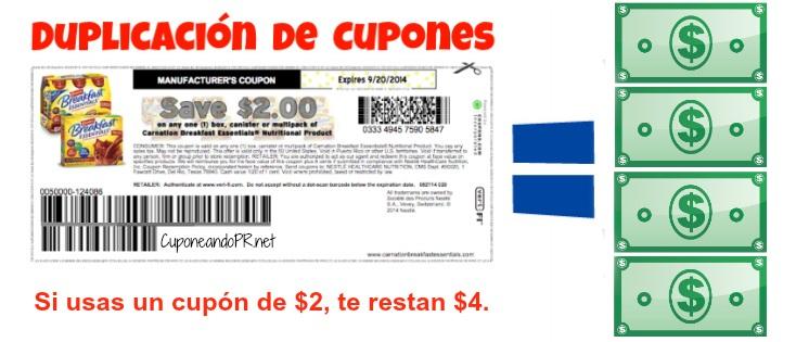 Duplicacion de Cupones Kmart PR 2b