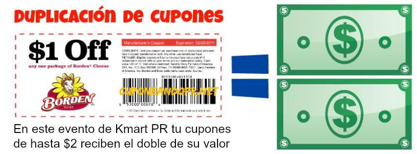 Duplicacion de Cupones Kmart PR