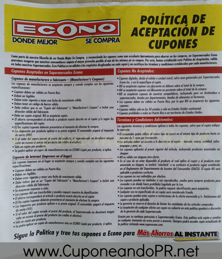 Politica_Cupones_Econo