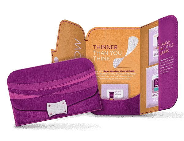 poise liners gratis