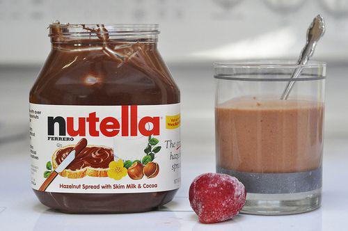 Coquito Navideño de Nutella