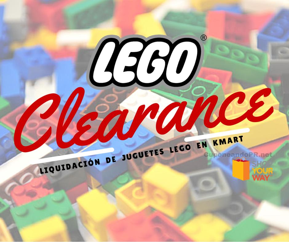 Juguetes LEGO en Liquidación desde $3.50