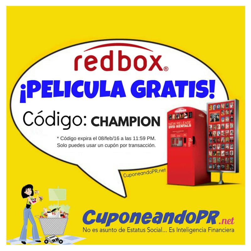 Película de RedBox GRATIS