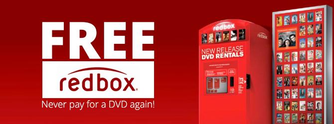 Código para RedBox DVD gratis