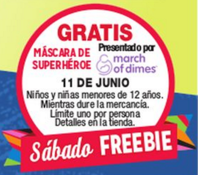regalo sabatino o freebie saturday