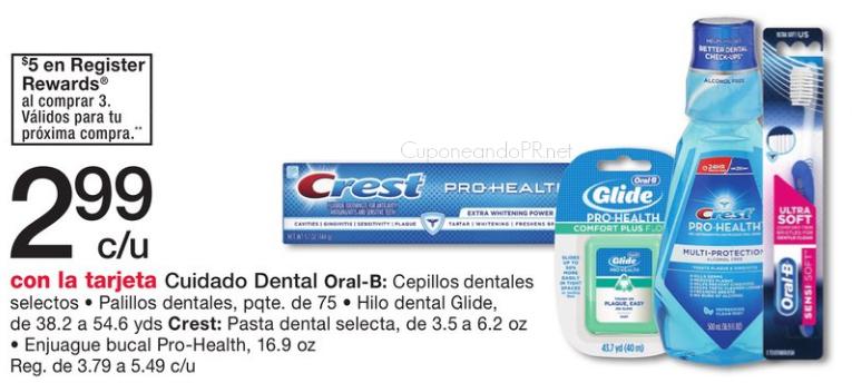 crest pro-health gratis cuponeando