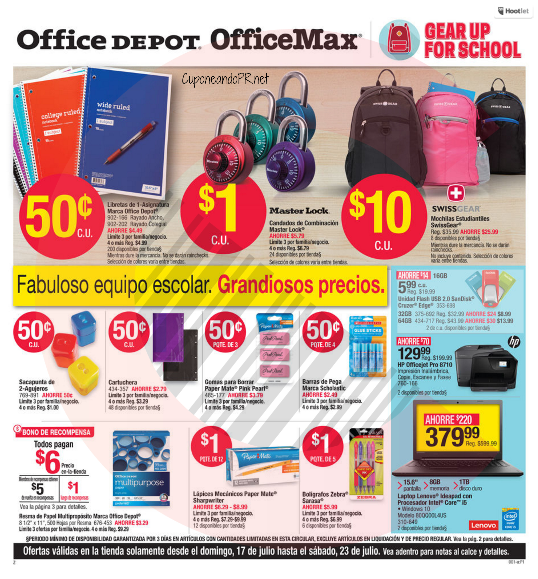 Office Max Back To School Shopper 1