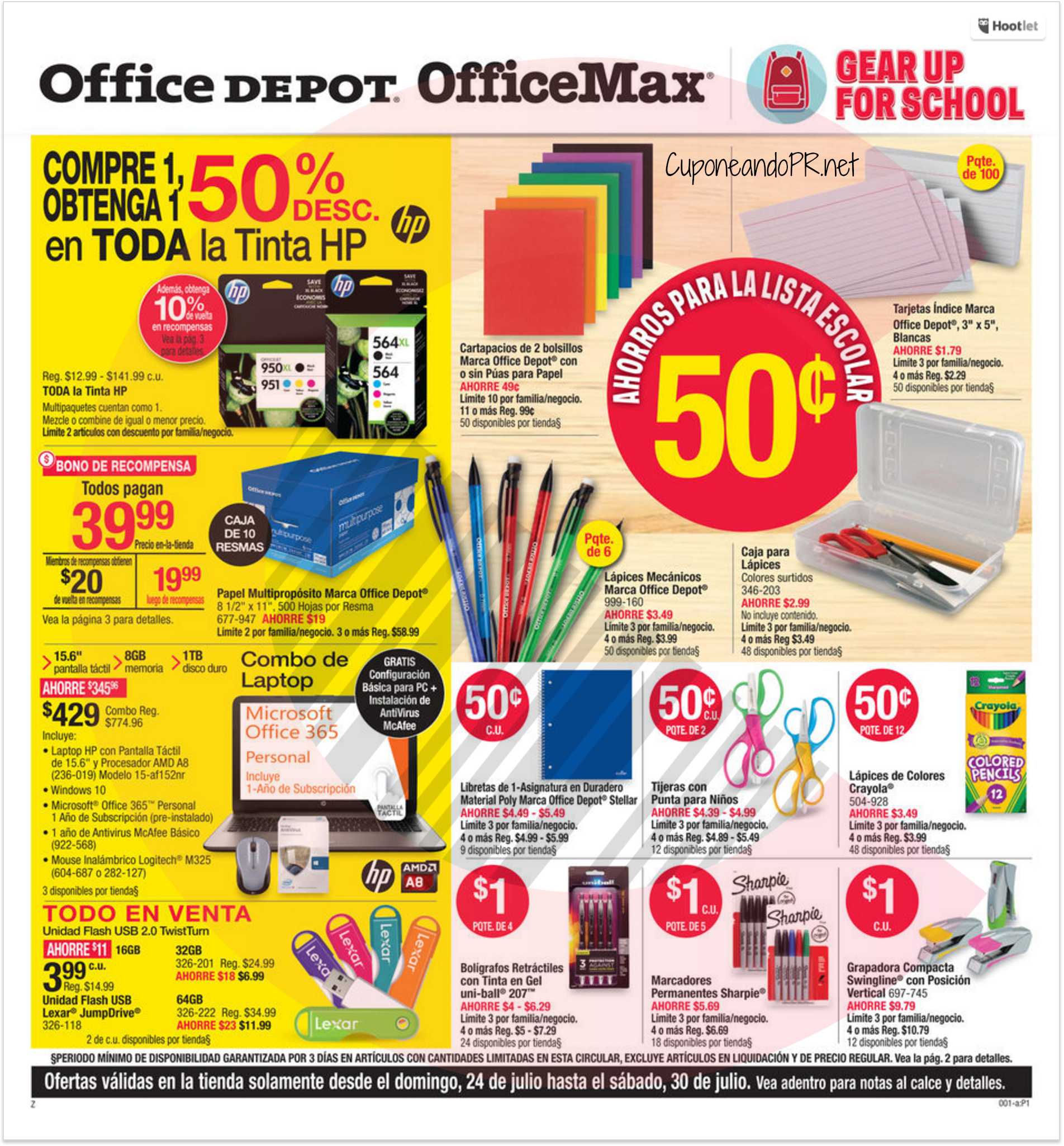 Shopper OfficeMax Office Depot