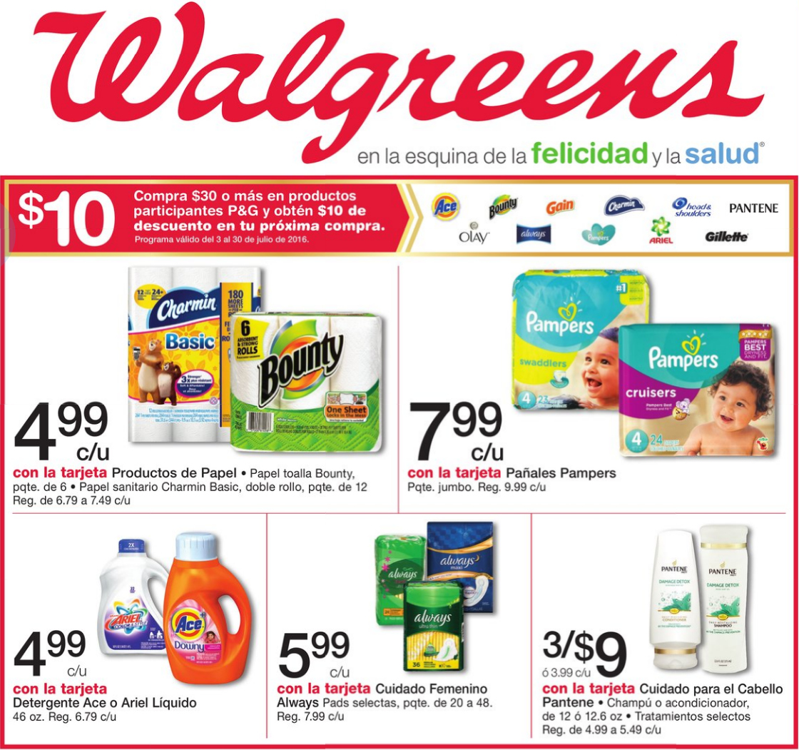 Walgreens B30G10