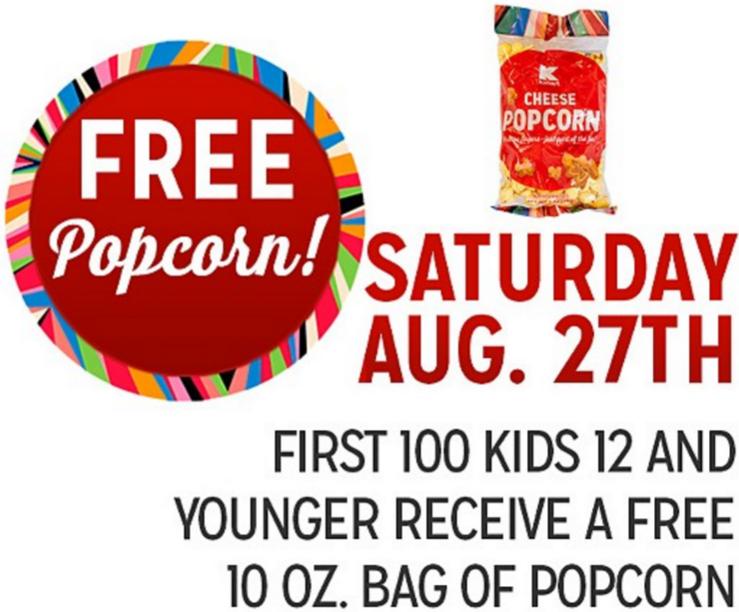 Kmart Freebie Saturday Agosto 27