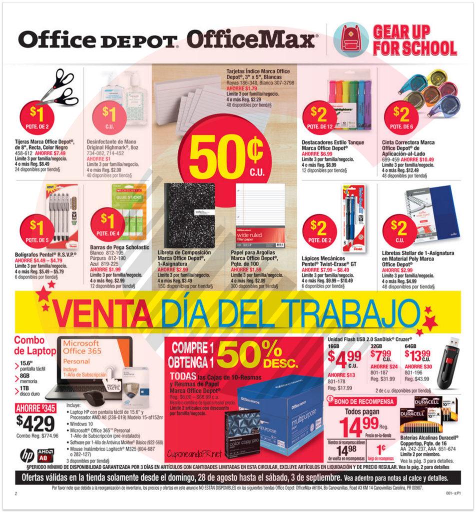 Ofice Max Office Depot Shopper 1