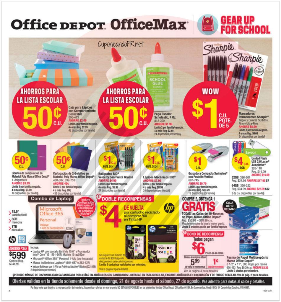 Shopper de Office Max Office Depot 1