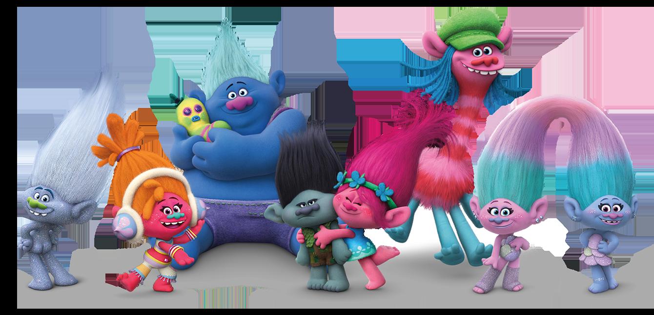 SORTEO: Canasta con película Trolls en Blu-Ray