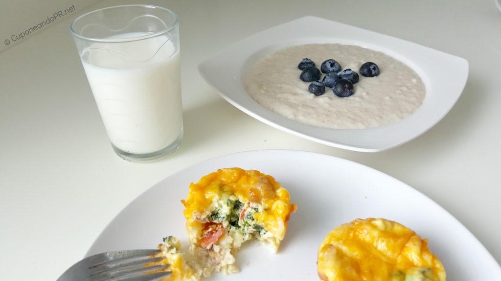 Desayuno Alto en Proteinas