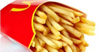 free fries mcdonalds app