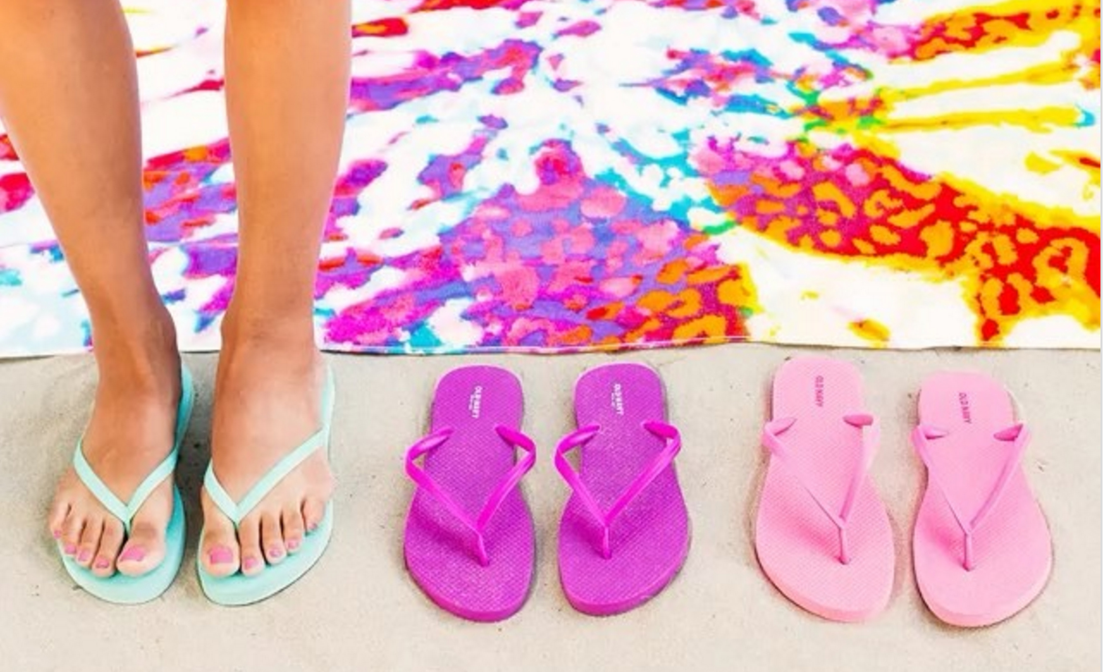 Flip Flops Sale at Old Navy