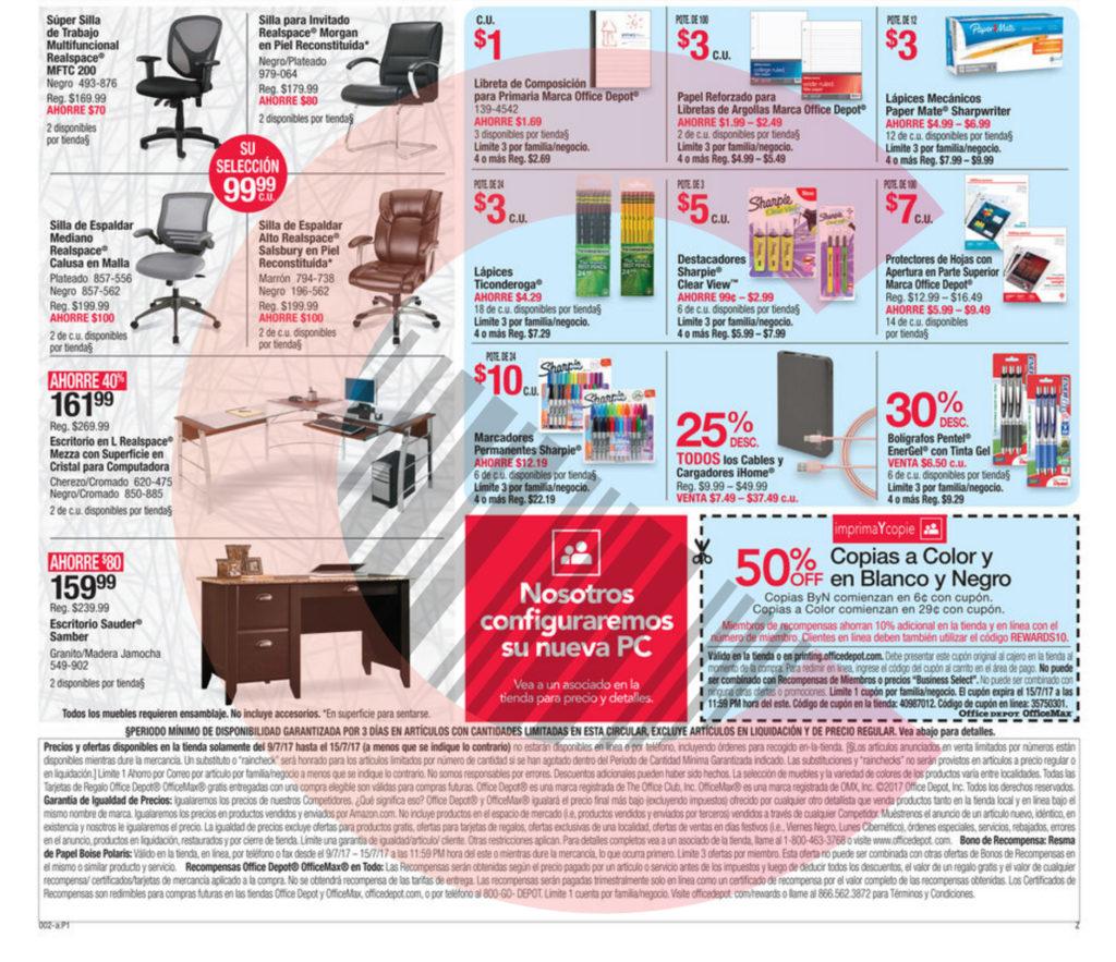 Shopper Office Office Depot p2b