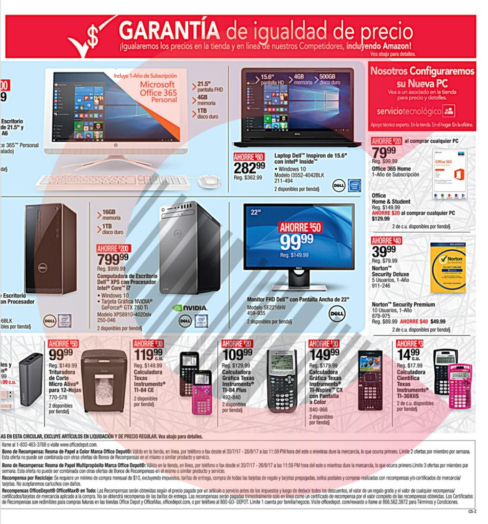 Shopper Office Max Office Depot Útiles Escolares