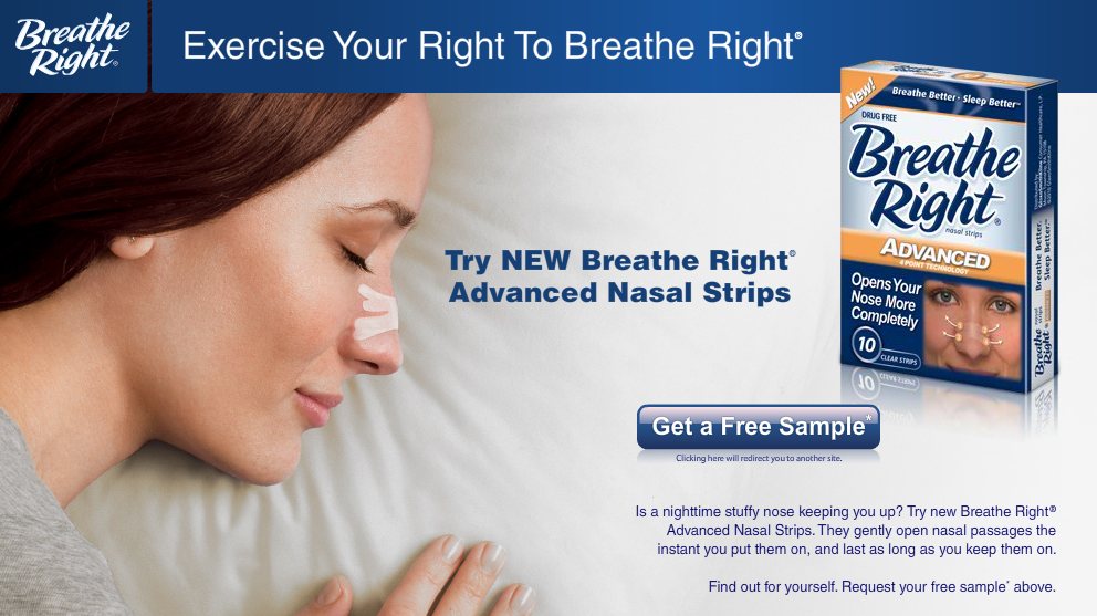 """analysis of cns breathe right strips Nasal strip adhesion of a product's adhesive qualities using texture analysis  more brand awareness for breathe right nasal strips,"""" chicago."""
