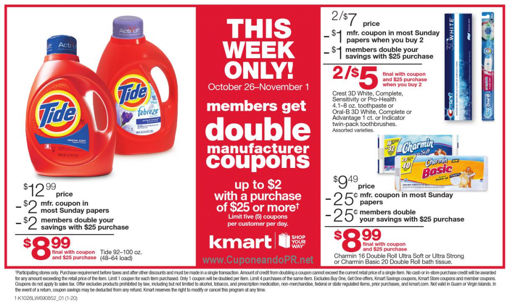 Kmart Policy on Double Coupons
